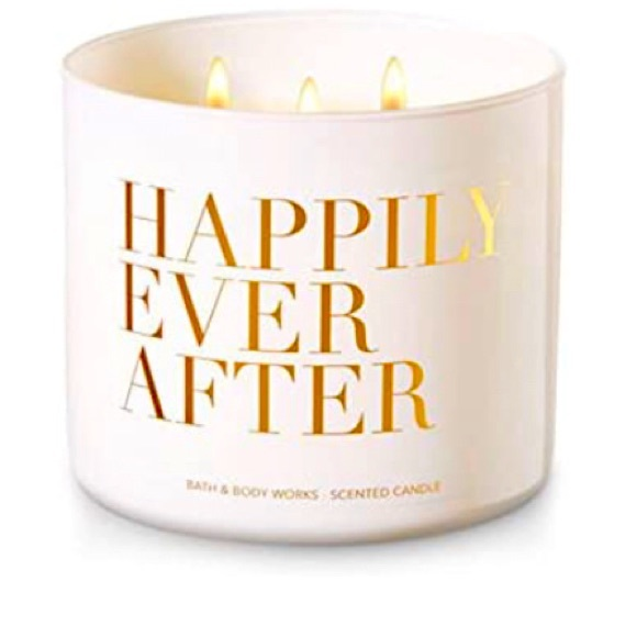 Bath And Body Works Happily Ever After Candle